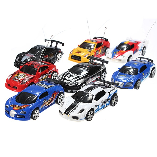 High Quality Brand New 8 Color Coke Can Mini 1:58 4CH RC Radio Remote Control Micro Racing Car Kids Children Gift Present Toy