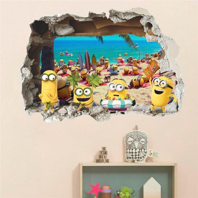 3D Minion Wall Stickers 4