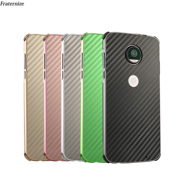 separation shoes 9b30e 53242 US $6.17 35% OFF|G6 Carbon fiber Shockproof Aluminum Metal case For  Motorola Moto G6 E5 Plus Frame+ plastic Back Cover For Moto Z3 Play  Coque-in ...