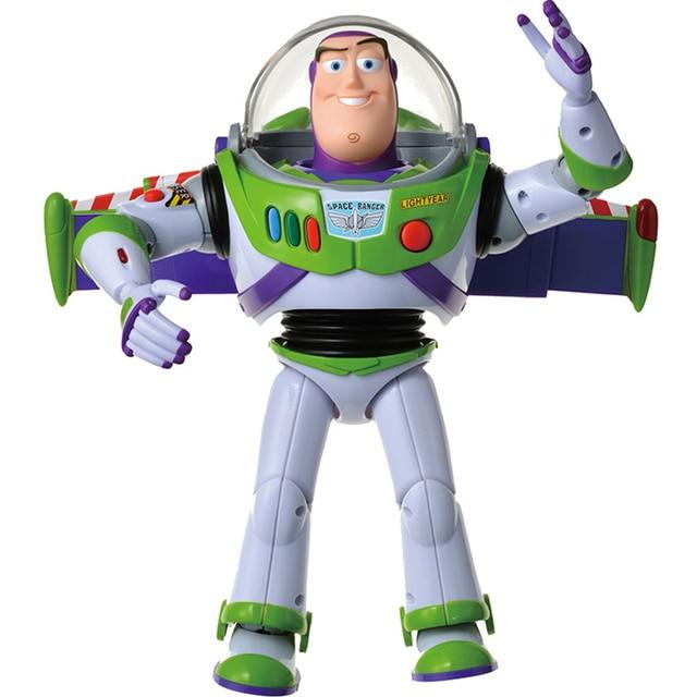 Toy Story 4 Buzz Light Jaar Speelgoed Talking Lichten Spreken Engels Joint Beweegbare Toy Story Action Figure Collectible Pop Speelgoed