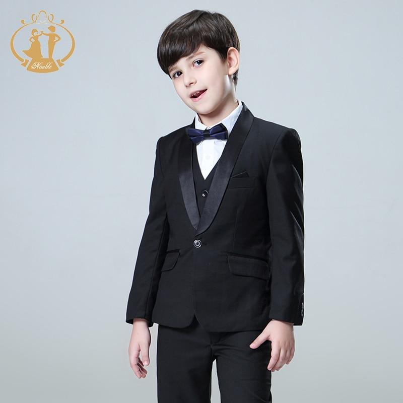 5pcs/Set suit for boy Kids Prom Suits Wedding Suits Kids Blazers ...