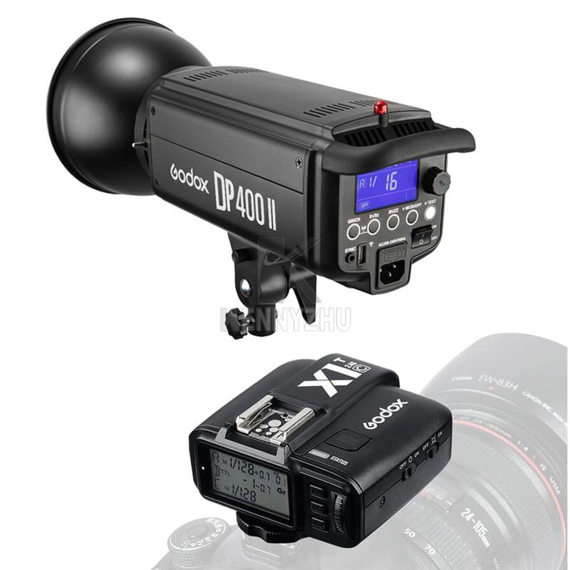 Free DHL Godox DP400II 400W 2 4G wireless X System Studio Strobe Flash Light 400Ws GN65