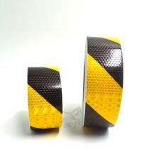 5cmx10m желтый/черный двухцветный Фотофон с высокой видимостью