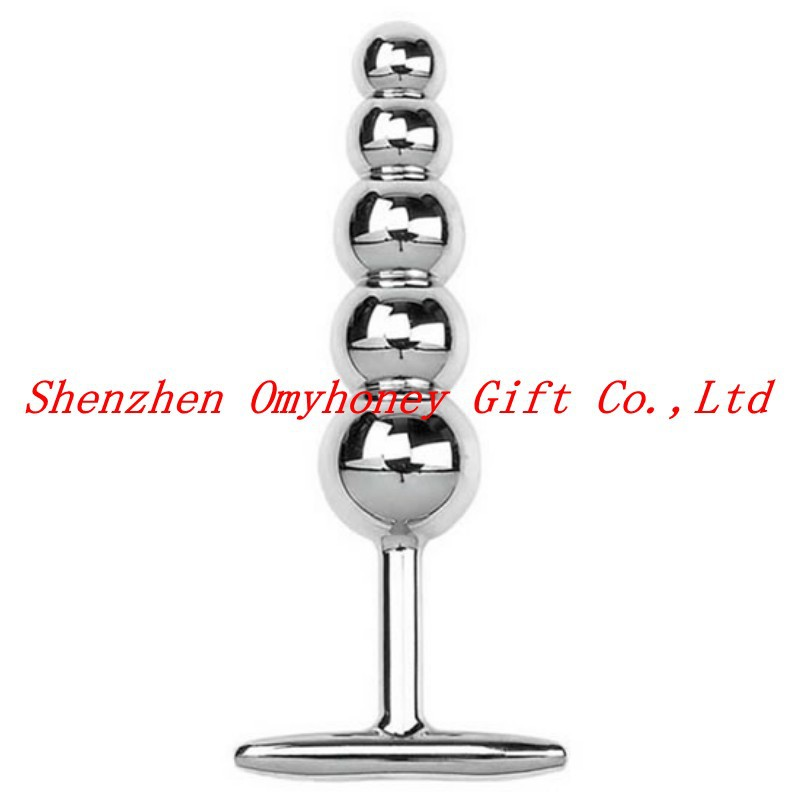 <font><b>Wholesale</b></font> - New Stainless Steel Anal Sex Toys Anal Plug Butt Plug Sex toys for Women men