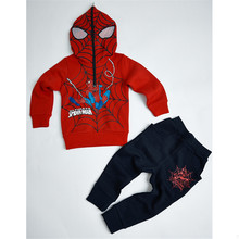 Spiderman Children Boys Clothing set Baby Spider man Sports Suits Kids t shirt+pants 2pcs Sets Spring Autumn Clothes Tracksuits