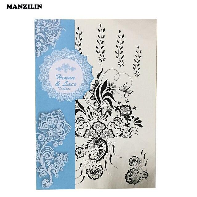Mini Mandala Fleur De Tatouage Derriere L Oreille Le Populaire Noir
