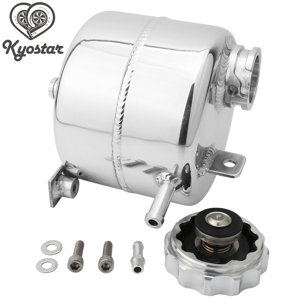 For 2002-2006 R53 MINI Cooper S and 2005-2008 R52 MINI Cooper S Convertible Polished Coolant Expansion Aluminum Aolly Tank & CapFor 2002-2006 R53 MINI Cooper S and 2005-2008 R52 MINI Cooper S Convertible Polished Coolant Expansion Aluminum Aolly Tank & Cap