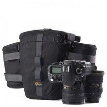 цена на Lowepro Outback 100 Digital SLR Camera Waist Packs Case Beltpack Bag Camera Shoulder Bag Outback 200  For Canon Nikon