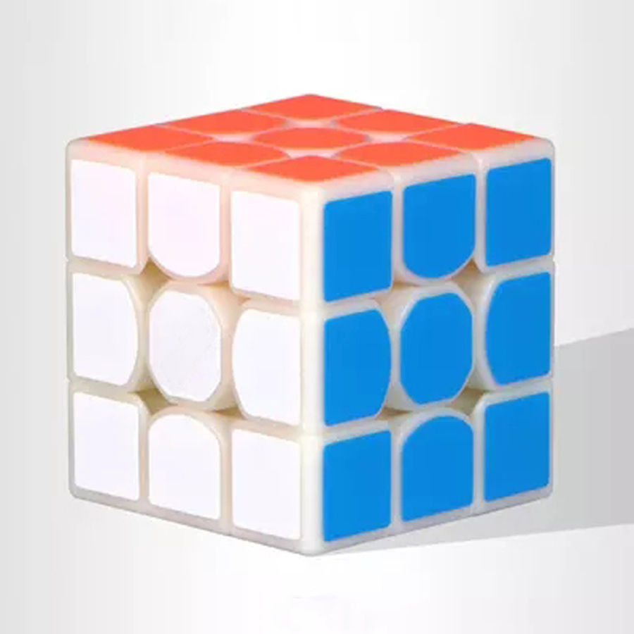 Puzzle Toy Speed Educational Cube Magic 3x3x3 Plastic Polymorph Brinquedo Menino Learning Resources Kubussen Toys Kids 60D0259