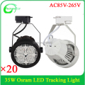 Jewelry Shop Lighting Decorative LED tracking Lamp PAR30 35W Tracking Light 3 years warranty easily changing