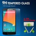 Prêmio de vidro temperado protetor de tela para lg google nexus 5 vidro temperado película protetora para nexus 5 anti shatter + presente