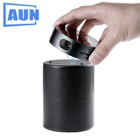 AUN Portable Projector Q8 Set In Android 5 1 WIFI HDMI 10900mAH Battery Power Bank For