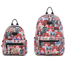 Printing Backpack Women School Bag for Teenage Girls 2018 New Fashion Mochila Masculina Casual Travel Female Canvas Bags Bagpack