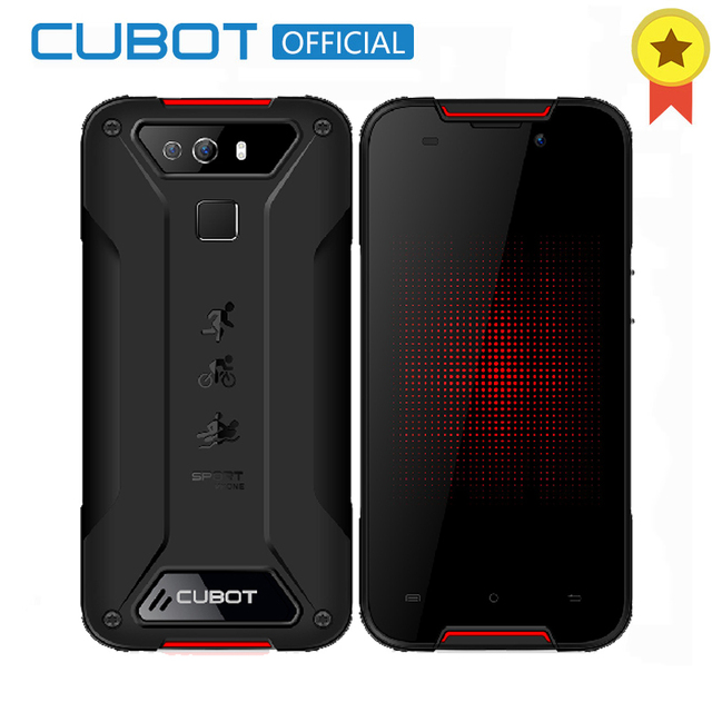 Cubot Quest Lite Android 9.0 2GB 16GB MT6761 Quad Core Support NFC Smartphone 5.0'' HD IP68 Waterproof Dustproof 5P Lens Celular