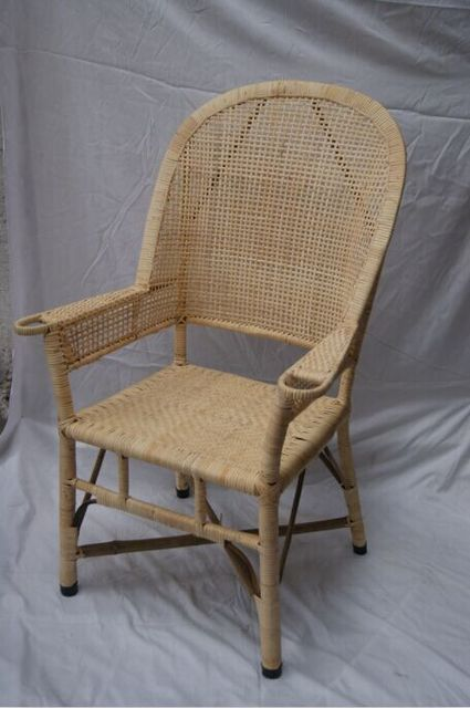 Old Fashioned Wicker Chairs Bamboo Chair Lounge Computer High Back Office  Low Level