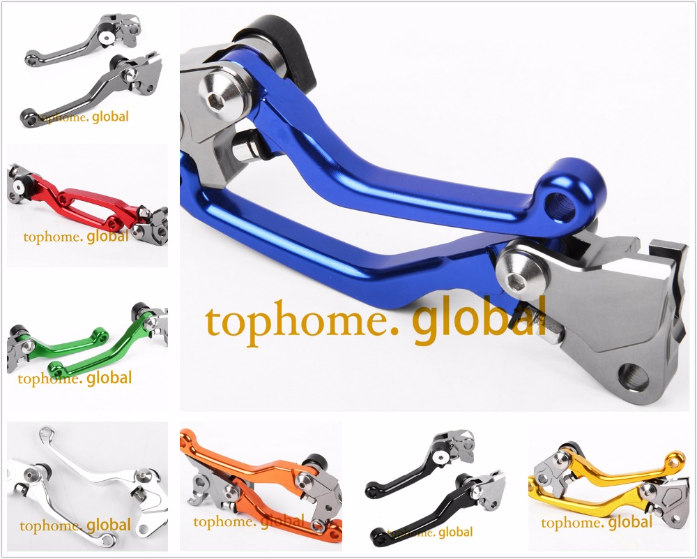 For HUSQVARNA FC250 FC450 2014 2015 CNC Pivot Brake Clutch Levers Motocross Dirtbike Replacement FC 250/450