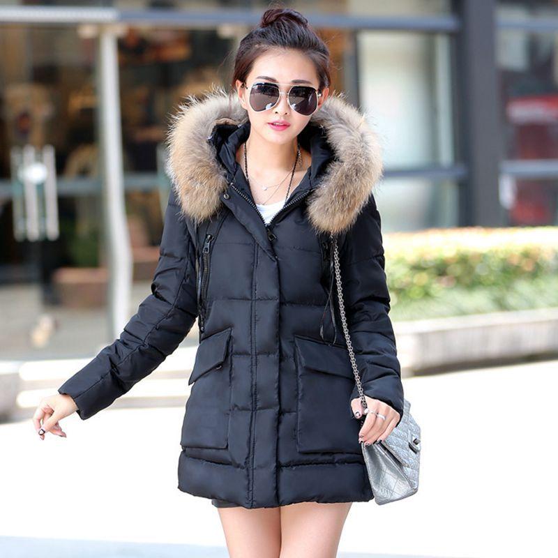 Female Winter Fashion: 2016 New Winter Coat Female Korean Fashion Hooded Cape Fur