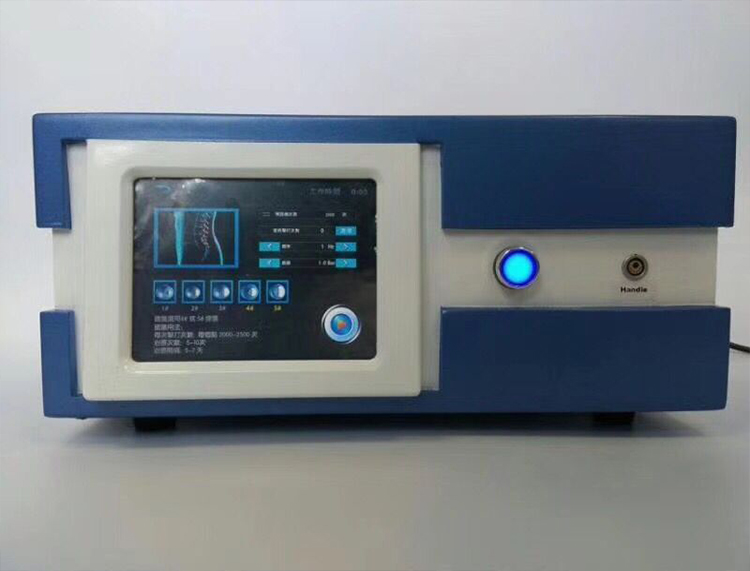 2019 Newest Factory Price /Extracorporeal Shock Wave Therapy Equipment With German Imported Compressor 7 Bar 2000000 Shots