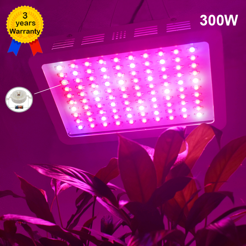 DILIYA 300W LED Grow Light Full Spectrum Plant Lighting Fitolampy Lamp Lamps for Plants Growing Flowers Seedlings Greenhouses семена flowers and plant supermarket