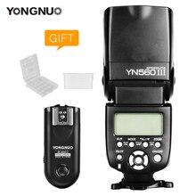 Yongnuo yn 560 iii yn560iii flash com RF 603 ii único transceptor gatilho para canon nikon