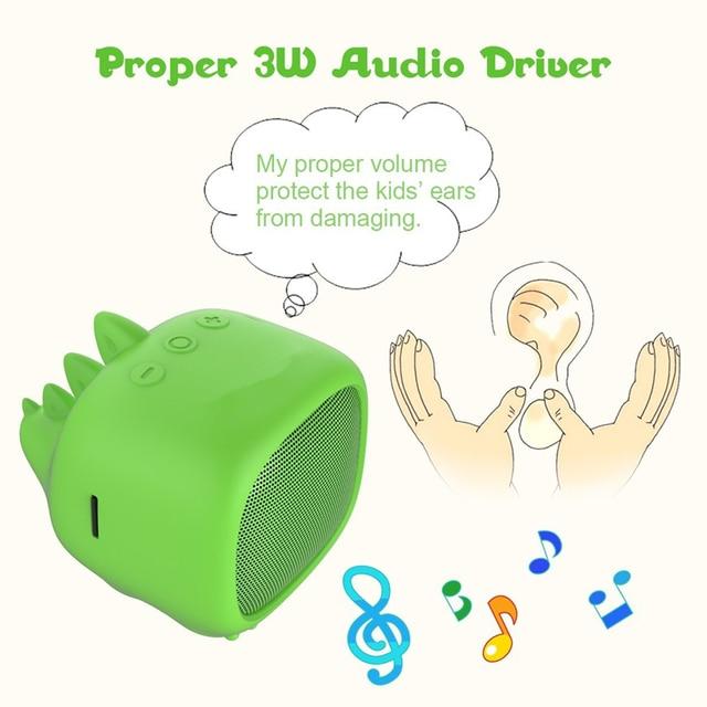 Cute Pet Wireless Bluetooth speakers Portable Column Sound bar Built in Speaker Column Bluetooth Speaker soundbar boom box Music