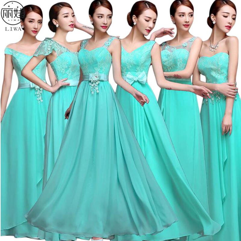 8375 15 De Descuentovestidos Largos De Chifón Para Dama De Honor Vestidos Sexis Para Baile De Graduación 6 Modelos Color Caramelo Vestidos De