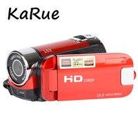 Karue 2018 10pcs New 2 7 TFT LCD 1080P Digital Video Camcorder 16x Digital Zoom DV