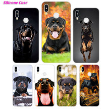 Silicone Case anime rottweiler for Huawei P Smart 2019 Plus P30 P20 P10 P9 P8 Lite Mate 20 10 Pro Lite Nova 3i Cover цены