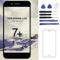 Mobile Phone Replacement For Iphone 7 Plus LCD Display 5 5 Inch Black White Touch Screen