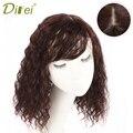 DIFEI женский Синтетический зажим для волос в парике, шиньоны натурального цвета, горячие волосы, шпильки для волос 25/35 см