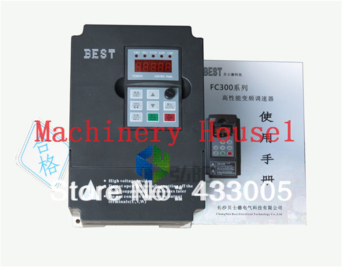 New 1pcs 3kw Variable frequency drive power router inverter 3KW converter CNC engraving and milling machine commom use