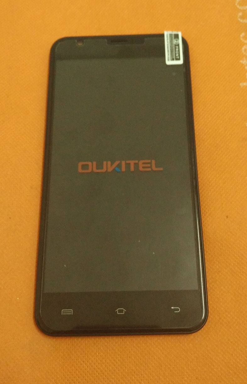 Écran tactile d'origine utilisé + écran LCD + cadre pour Oukitel U7 Plus MT6737 Quad Core 5.5