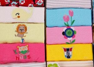 Image 5 - 5 pcs/lot Bébé Combinaisons Enfants Combinaisons À Manches Longues Coton Bébé Garçon et Fille Bébé Corps Roupa Infantil Toca Salopette pour enfants