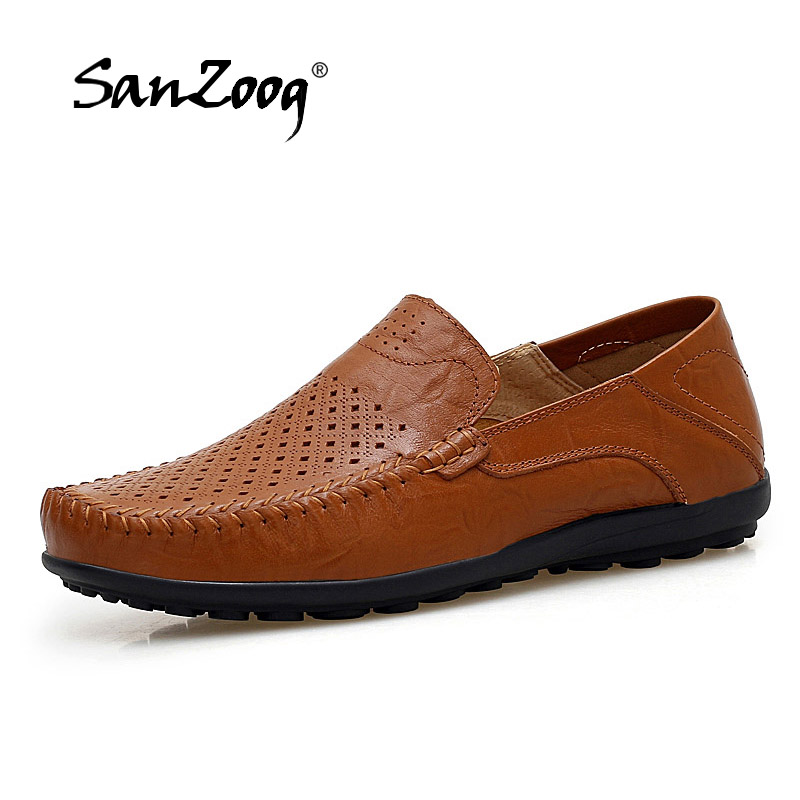 Loafers Men Casual Shoes Summer Big Size Breathable Luxury Brand Mens Driving Shoes Leather Slip On Zapatos Hombres MocasinesLoafers Men Casual Shoes Summer Big Size Breathable Luxury Brand Mens Driving Shoes Leather Slip On Zapatos Hombres Mocasines