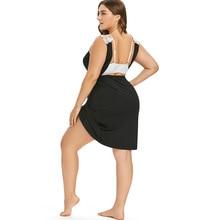 Plus Size Lace Straps Women Cover Dress