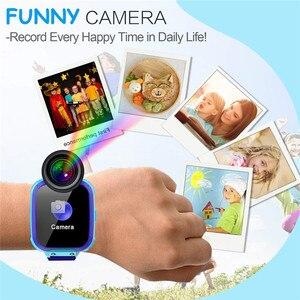 Image 3 - KG10 música reloj inteligente niños Cámara teléfono niño reloj Color pantalla táctil SOS Smart Baby Watch jugar juego música jugar reloj