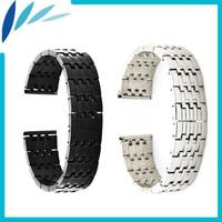Stainless Steel Watch Band 22mm For MK Strap Wrist Loop Belt Bracelet Black Silver Spring Bar