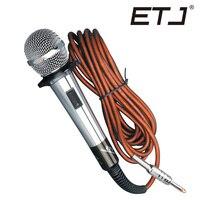 Бесплатная доставка! Одежда высшего качества K28 профессиональный караоке динамический супер кардиоидный вокальный микрофон проводной мик...