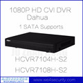 HCVR7104H-S2 HCVR7108H-S2 4CH 8CH Dahua HD CVI DVR CVR 1080P HDMI VGA USB RS485 DAHUA English Version