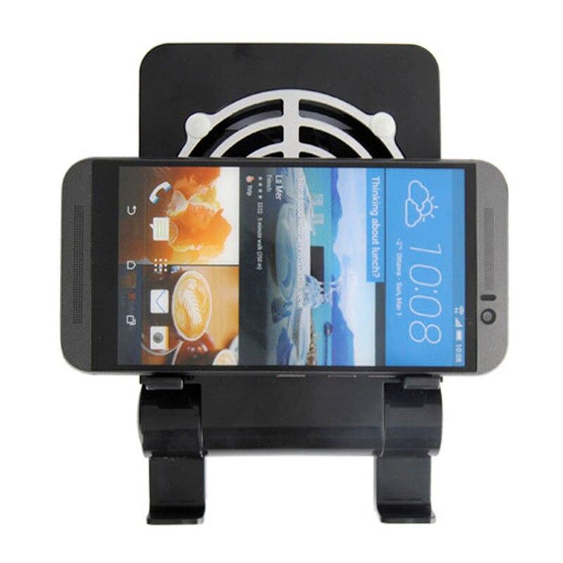 Универсальный рабочего мобильного телефона держатель + вентилятор радиатора Портативный  ...