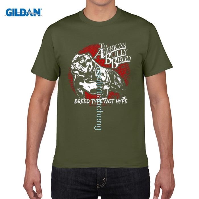 Возьмите DIY Стиль Для мужчин S футболки различных цветов высокое качество породы питбуль американский хулигана Supply Co Для мужчин; футболка