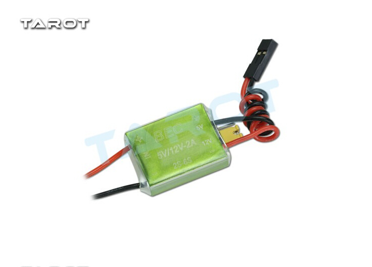 F17842 Tarot 2-6S turn 5V / 12V RC BEC TL2075 for image transmission for multicopter drone with camera