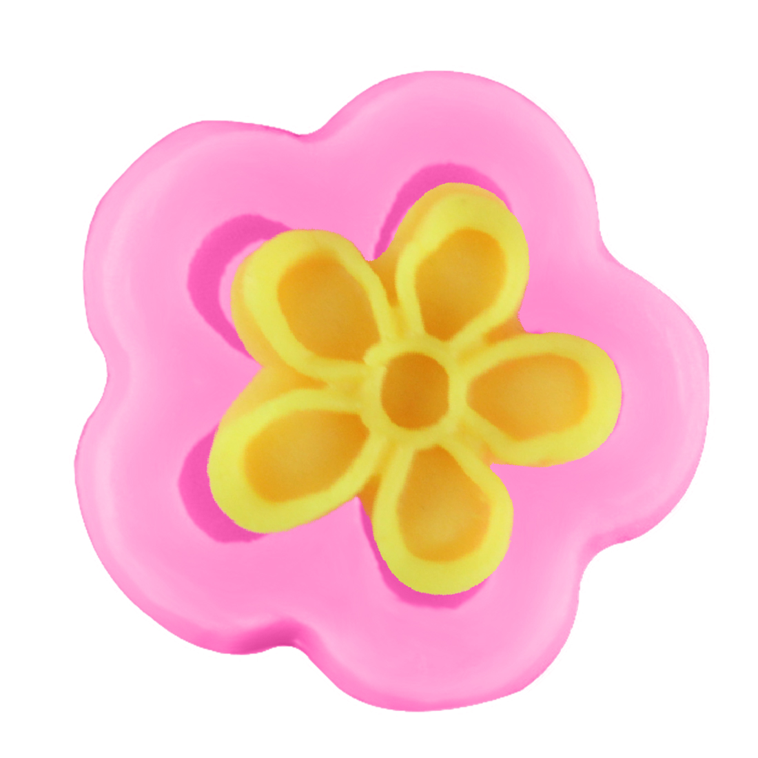 Great Small Flower Silicone Fondant Cake Mold Soap Chocolate Clay Mould DIY Tool