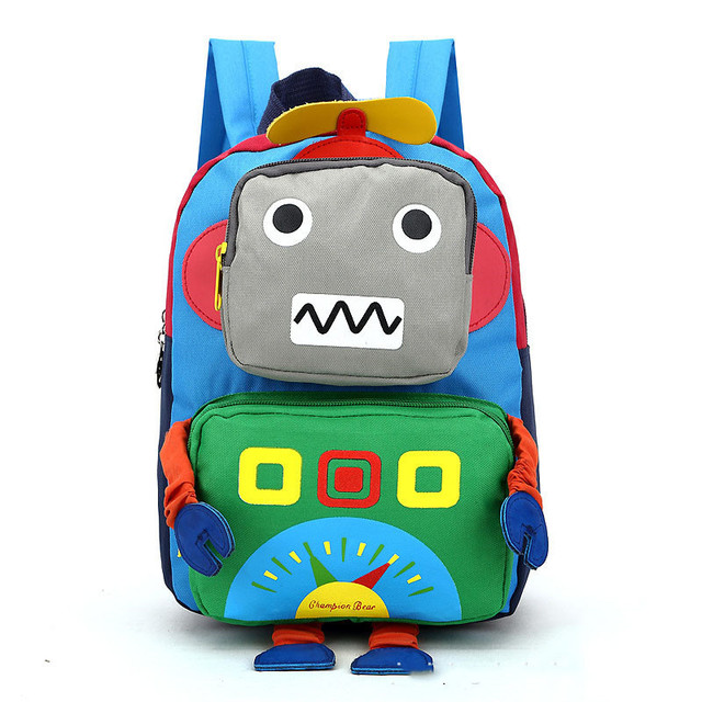 Aliexpress.com : Buy Cartoon Kids Backpacks Baby Mini Schoolbag 3D ...