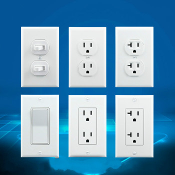 15A/20A 110V-250V United States 1  2 gang UL authentication USA standard socket North America Power supply socket Wall switch mvava 15a switched wall decorative socket south africa standard plug 3 round pin receptacle with 1 gang panel free shipping