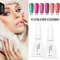 Neón Colorido Esmalte de Uñas de Gel 29 Colores de maquillaje Profesional Led Soak Off Gel UV Laca de Uñas de Arte de Uñas de Larga Duración líquido