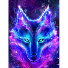 Diamond Embroidery Wolf dream catcher pictures mosaic crystal 5D cross-stitch diamonds painting DIY Needlework gx