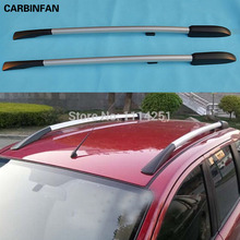 Free Shipping For Nissan Qashqai Dualis 2007 2008 2009 2010 2011 2012 Rack Decorative Side Bars Rails Roof Rack(China)