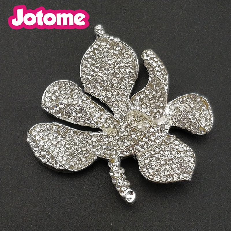 10pcs lotfree shipping new years gift 50mm flat back clear crystal 10pcs lotfree shipping new years gift 50mm flat back clear crystal lotus flower australian brooch pins in brooches from jewelry accessories on mightylinksfo
