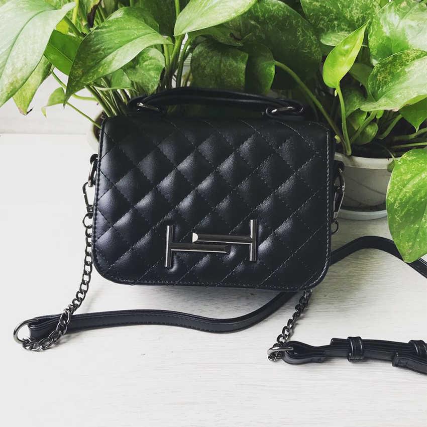 HOWRU/Роскошные клетчатые сумочки со стразами; дизайнерская женская сумка на плечо; Новинка 2019 года; элегантные женские сумки через плечо из мягкой искусственной кожи
